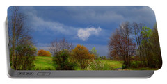 Portable Battery Charger featuring the photograph Storm Cell by Kathryn Meyer