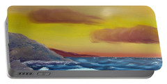 Stormy Beach Portable Battery Charger