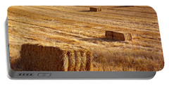 Straw Field Portable Battery Charger