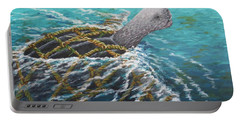 Struggle -leatherback Sea Turtle Portable Battery Charger