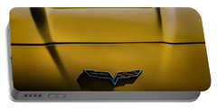 Study In Yellow Portable Battery Charger