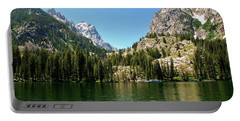 Summer Day At Jenny Lake Portable Battery Charger