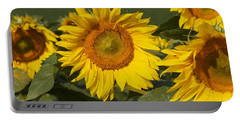 Portable Battery Charger featuring the photograph Sun Flower by William Norton