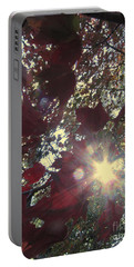 Portable Battery Charger featuring the photograph Sun Shine Through by Donna Brown