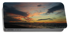 Portable Battery Charger featuring the photograph Sundown  by Barbara McMahon
