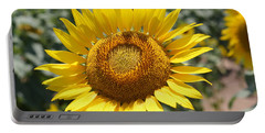 Portable Battery Charger featuring the photograph Sunflower by Donna  Smith