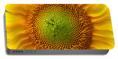Sunflower Fantasy Portable Battery Charger by Benanne Stiens