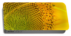 Sunflower Study 1 Portable Battery Charger