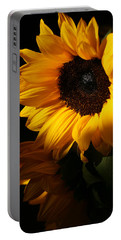 Sunflowers Portable Battery Charger by Dorothy Cunningham