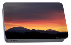 Portable Battery Charger featuring the photograph Sunrise 3 by Chalet Roome-Rigdon