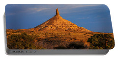 Sunrise At Chimney Rock Portable Battery Charger