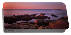 Sunrise At Otter Point Portable Battery Charger