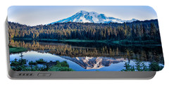 Sunrise At Reflection Lake Portable Battery Charger