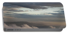 Portable Battery Charger featuring the photograph Sunrise In The Mountains by Jeannette Hunt
