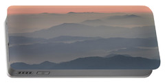 Sunrise On Round Bald Portable Battery Charger