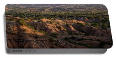 Sunrise Over Caprock Canyons State Park Portable Battery Charger