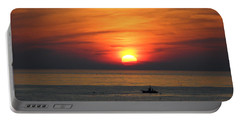 Portable Battery Charger featuring the photograph Sunrise Over Gyeng-po Sea by Kume Bryant