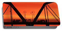 Sunrise Walnut Street Bridge Portable Battery Charger