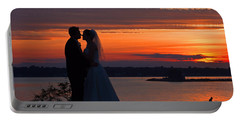 Sunset At Night A Wedding Delight Portable Battery Charger