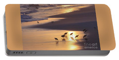 Portable Battery Charger featuring the photograph Sunset Beach by Nava Thompson