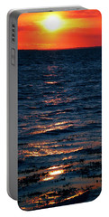 Sunset Denmark Samsoe Island Portable Battery Charger
