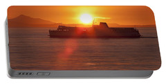 Sunset Portable Battery Charger by Eunice Gibb