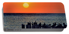 Portable Battery Charger featuring the photograph Sunset In Florida by Lydia Holly