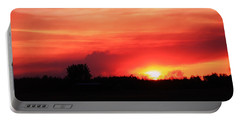 Portable Battery Charger featuring the photograph Sunset by Johanna Bruwer