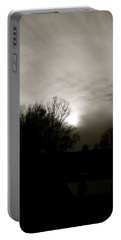 Portable Battery Charger featuring the photograph Sunset by Kume Bryant