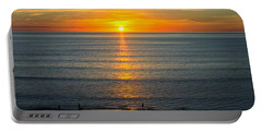 Sunset - Moana Beach - South Australia Portable Battery Charger