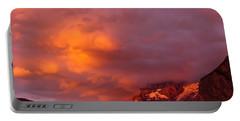 Sunset Murren Switzerland Portable Battery Charger