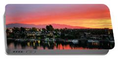 Sunset On Lake Havasu Portable Battery Charger