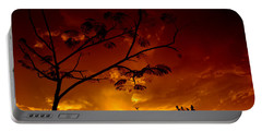 Sunset Over Florida Portable Battery Charger
