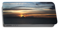 Sunset Over Poole Bay Portable Battery Charger