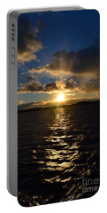 Sunset Over Winnepesaukee Portable Battery Charger by Kevin Fortier