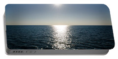 Sunshine Over The Mediterranean Sea Portable Battery Charger