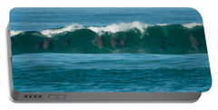 Surfing Dolphins 2 Portable Battery Charger