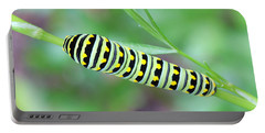 Swallowtail Caterpillar On Parsley Portable Battery Charger