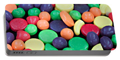 Portable Battery Charger featuring the photograph Sweet Candy Galore  by Sherry Hallemeier