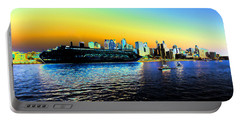 Sydney In Color Portable Battery Charger by Douglas Barnard