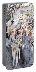 Tahoe Bush Icicles Portable Battery Charger