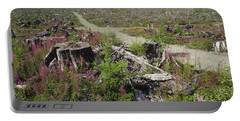 Temperate Rainforest Clear Cutting Portable Battery Charger