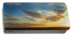 Texas Sized Sunset Portable Battery Charger