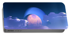 Portable Battery Charger featuring the digital art The Alignment... by Tim Fillingim