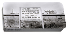 Berlin Wall American Sector Portable Battery Charger