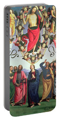 The Ascension Of Christ Portable Battery Charger