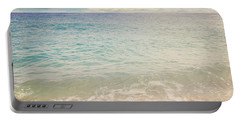 The Beach Portable Battery Charger by Lyn Randle