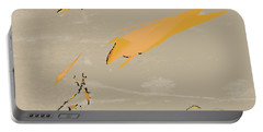Portable Battery Charger featuring the painting The Beast Afoot by Kevin McLaughlin