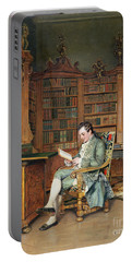 The Bibliophile Portable Battery Charger
