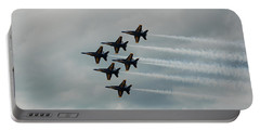 The Blue Angels Portable Battery Charger by Randy J Heath